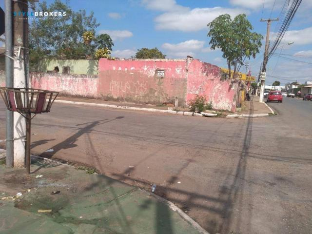 Terreno de esquina comercial à venda, 280 m² por R$ 500.000 - CPA I - Cuiabá/MT - Foto 7