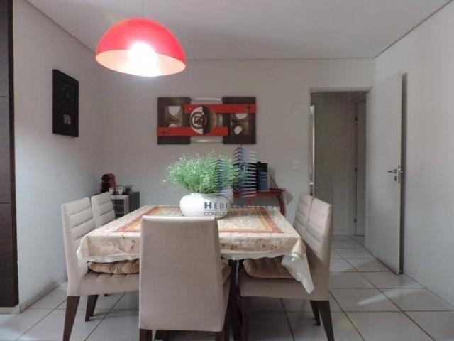 Apartamento com 4 dormitórios à venda, 133 m² por R$ 750.000 - Jatiúca - Maceió/AL - Foto 18
