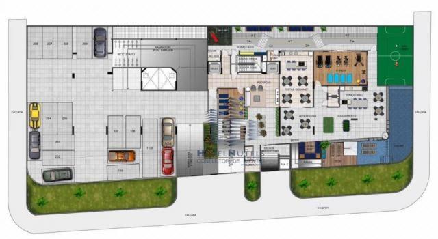 Apartamento com 1 dormitório à venda, 40 m² por R$ 240.000 - Jatiúca - Maceió/AL - Foto 16