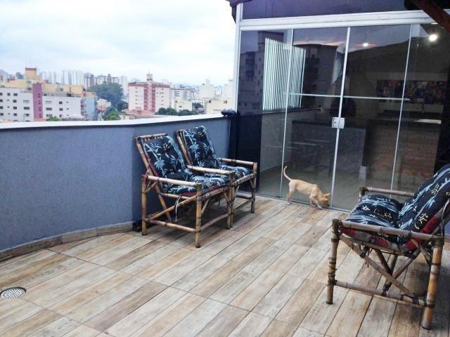 Cobertura à venda, 130 m² por r$ 650.000 - santa maria - são caetano do sul/sp - Foto 2