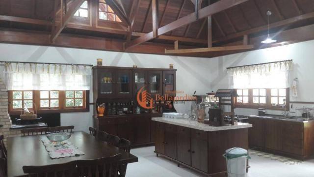 Chácara com 3 suítes à venda, 4000 m² por R$ 900.000 - Zona Rural - Piranguçu/MG - Foto 4