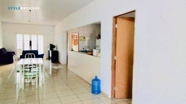 Chácara na Beira de Rio com 4 dormitórios à venda, 3600 m² por R$ 260.000 - Zona Rural - S - Foto 8