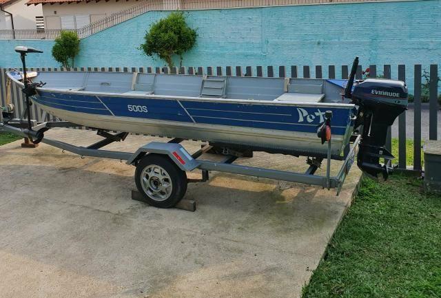 Barco Petty 500s com Carretinha - Foto 13