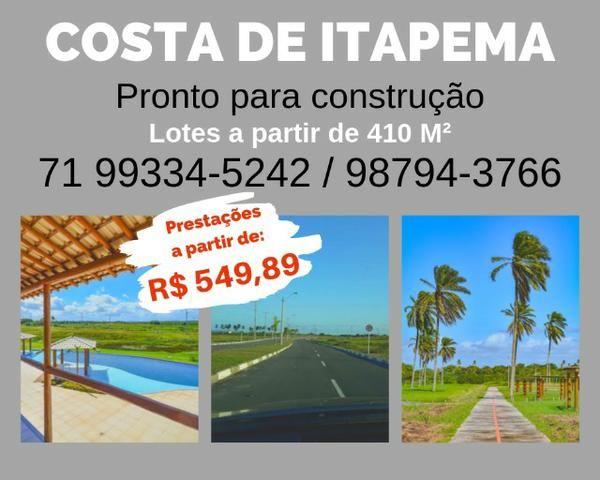 Loteamento, praia exclusiva, Costa de Itapema, com Infraestrutura *3