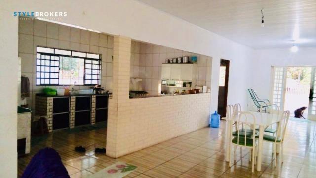 Chácara na Beira de Rio com 4 dormitórios à venda, 3600 m² por R$ 260.000 - Zona Rural - S - Foto 6