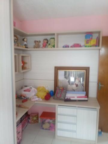 Apartamento Semi Mobiliado no Condomínio Villa Jardim Orquídea 3 Qts - Foto 4