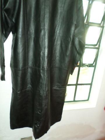 [ novo ] Casaco de couro puro,comum para mulheres ou homens,em santa Isabel !! - Foto 6