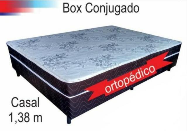 Cama box de casal modelo ortopedico