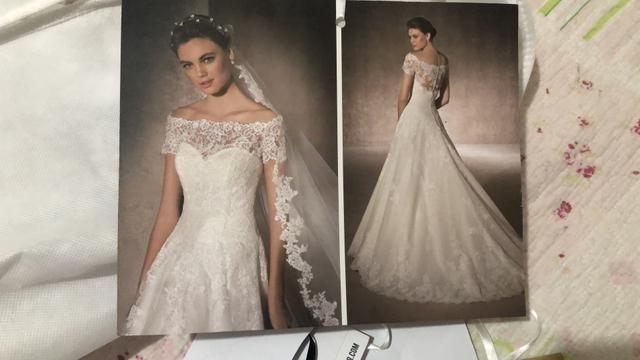 Vestido de noiva St. PATRICK Barcelona - Foto 6