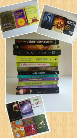 R$10,00 cada (livros de Meg Cabot, Sophie Kinsella e mais)