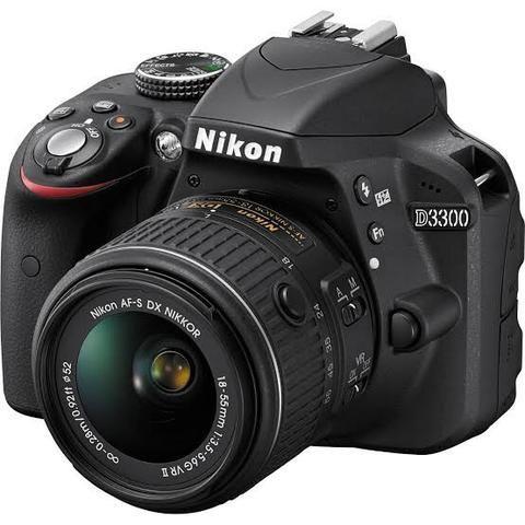 Câmera Digital Nikon D3300 + Estabilizador Steadycam