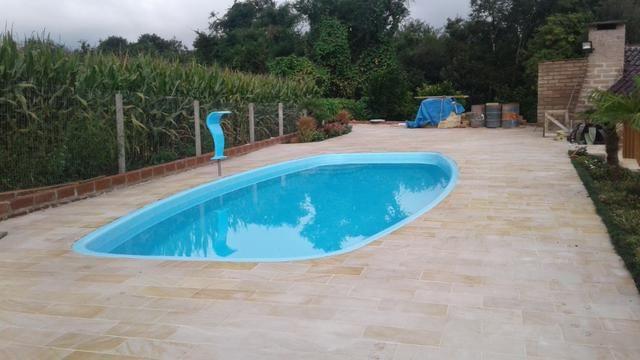 Piso piscina X Arenito X caxambu = Arenito Taquara Direto da Fábrica - Foto 5