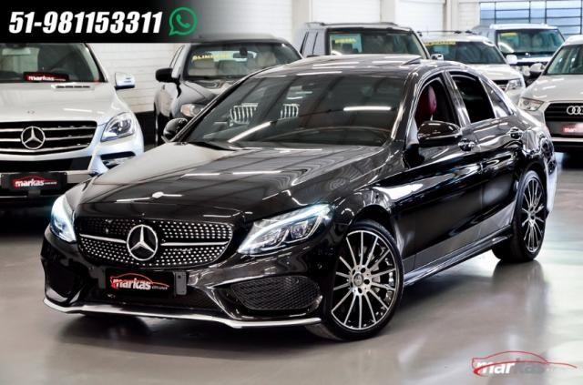 Mercedes C 450 C450AMG4M 367HP TETO 36 MIL KM 4P