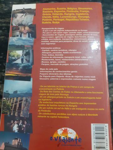 Livro Guia Criativo Para O Viajante Independente Na Europa  - Foto 2
