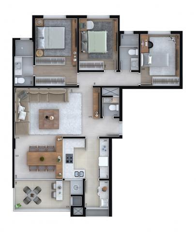 Apartamento residencial para venda, Cristo Rei, Curitiba - AP6996. - Foto 11