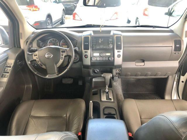 Nissan frontier SL diesel 4x4 cambio automatico novíssimo!!! - Foto 5