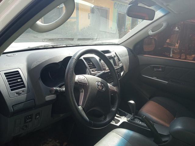 Toyota hilux srv diesel 4/4 automatica 2015 - Foto 2