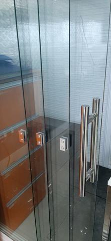 Vitrine de vidro e alumínio (vidros sem arranhões) - Preço de oportunidade - Foto 5