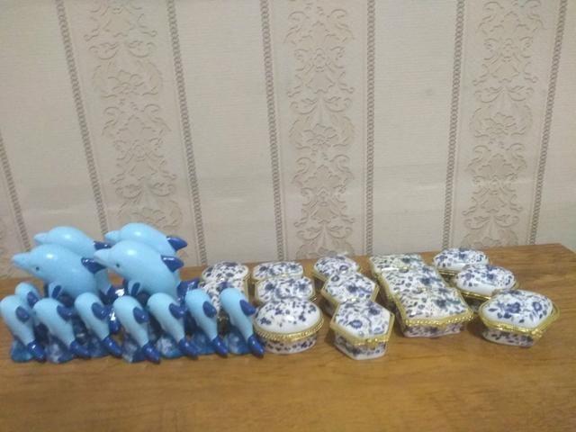 26 Mini enfeites de ceramica - Foto 2