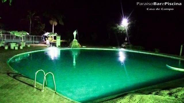 Chácara com triplex, área para festas com 3 piscinas e vagas p/ mais de 40 automóveis!! - Foto 7