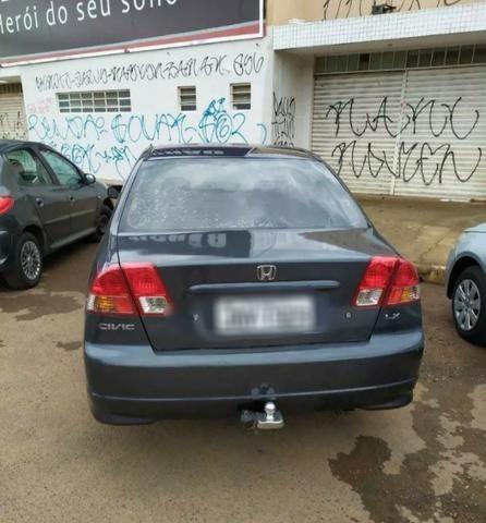 Honda civic 1.7 lx 4p - Foto 2