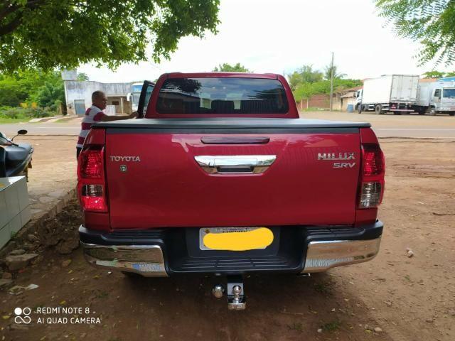 Vendo Hilux SRV 17/17 Diesel - Foto 16