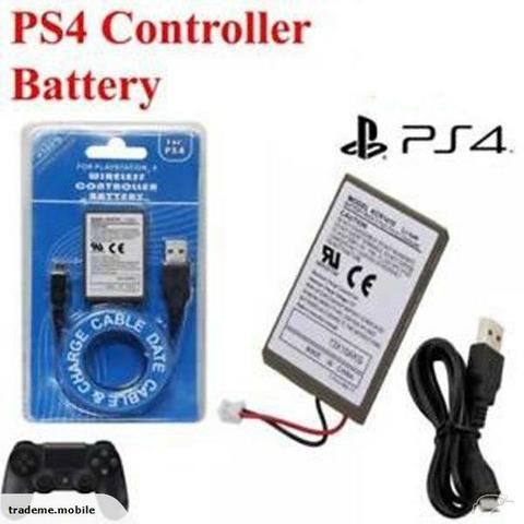 Bateria para Controle Dualshock Ps4 Play 4 Cabo Carregador - Foto 2