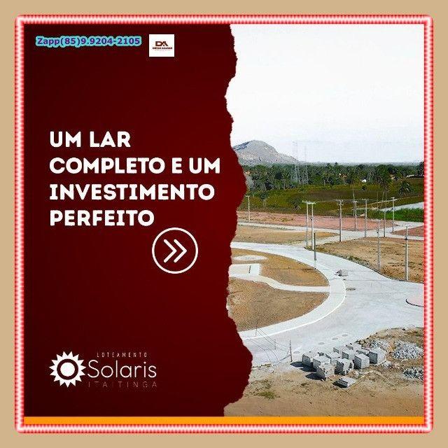 Solaris Loteamento { Pronto para construir}. - Foto 7