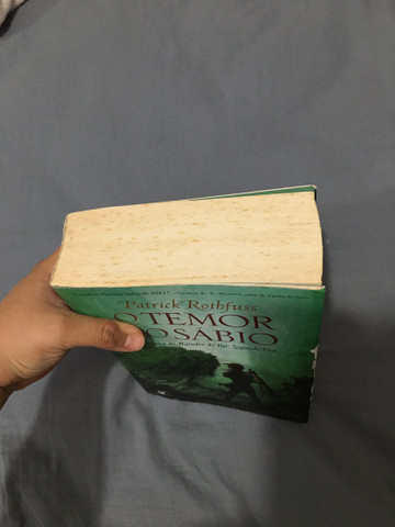 Livro O temor do sábio  - Foto 2