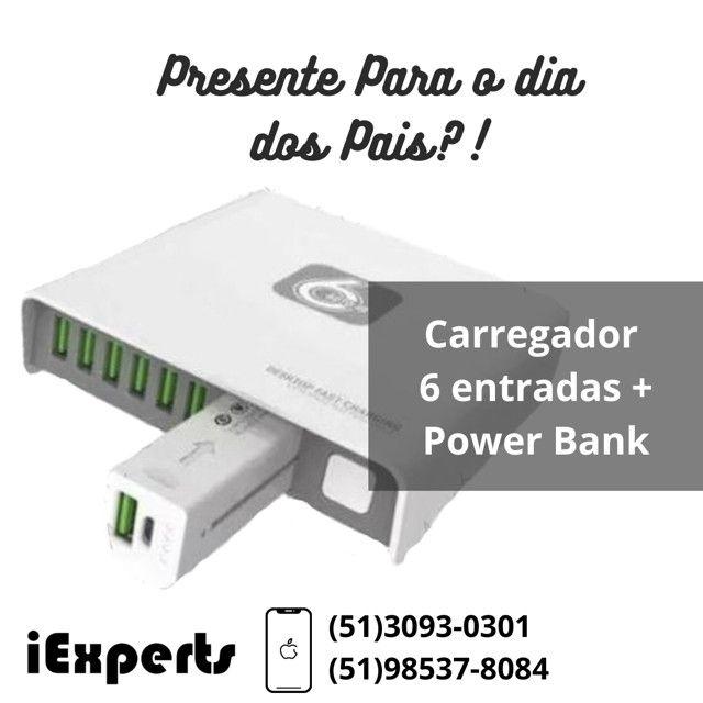 Carregador HC 54 + Power Bank - Foto 2