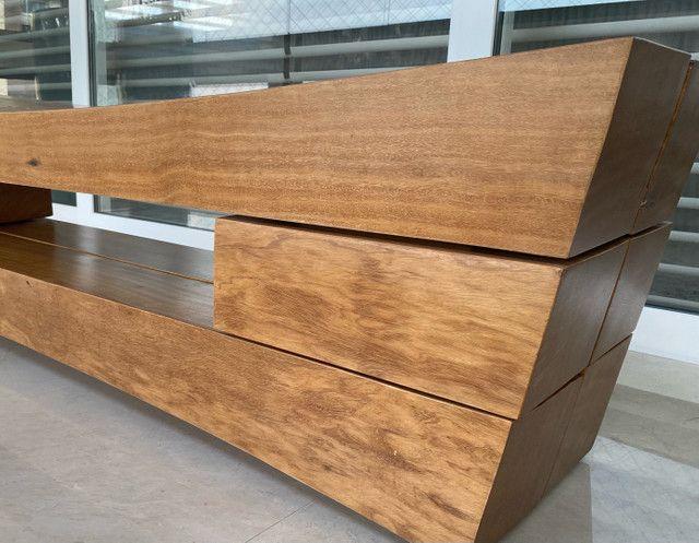 Banco em madeira Maciça - Desing Pedro Petry - Foto 3