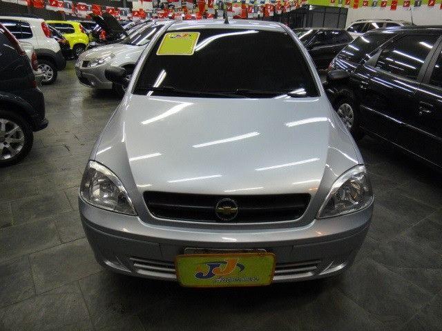 Chevrolet Corsa Maxx 1.4 8v Flex Completo 2010 Prata - Foto 2