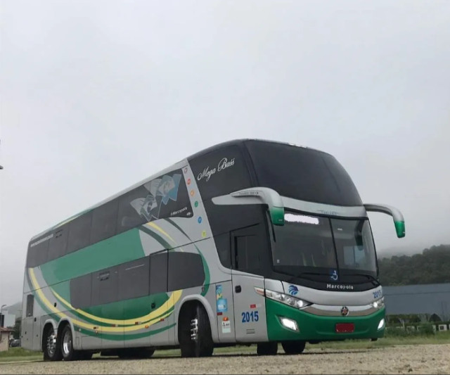 Ônibus Marcopolo 1800 Dd G7 Scania K400 6x2 Leito Turismo