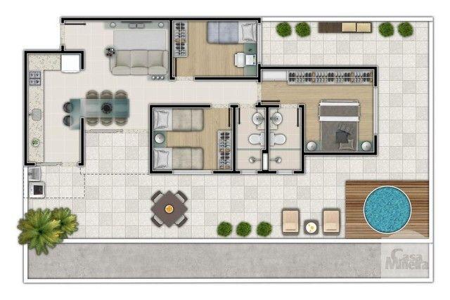 Apartamento à venda com 3 dormitórios em Salgado filho, Belo horizonte cod:250264 - Foto 3