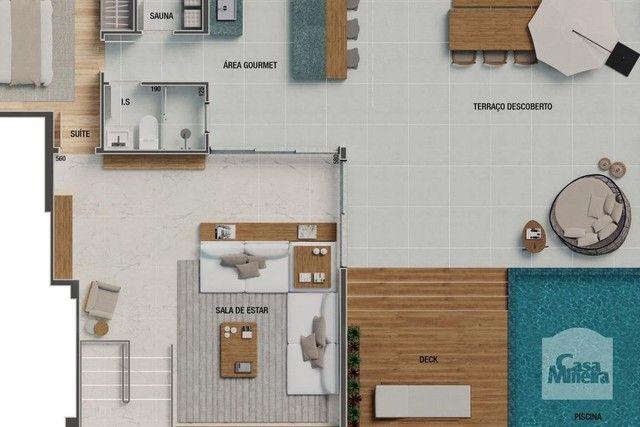 Apartamento à venda com 4 dormitórios em Sion, Belo horizonte cod:264980 - Foto 6