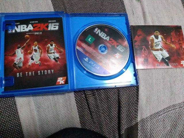 PS4 JOGO NBA2K16 - Foto 4