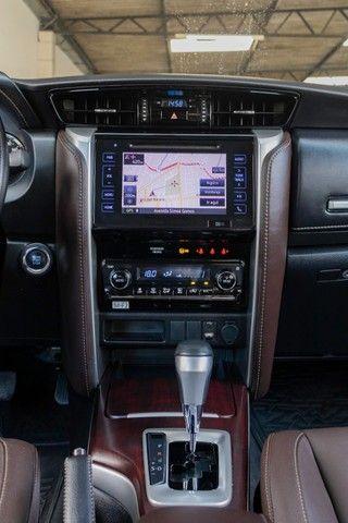 Toyota hilux sw4 4x2 srv flex 2018 automatica *IPVA 2021 PAGO* - Foto 14