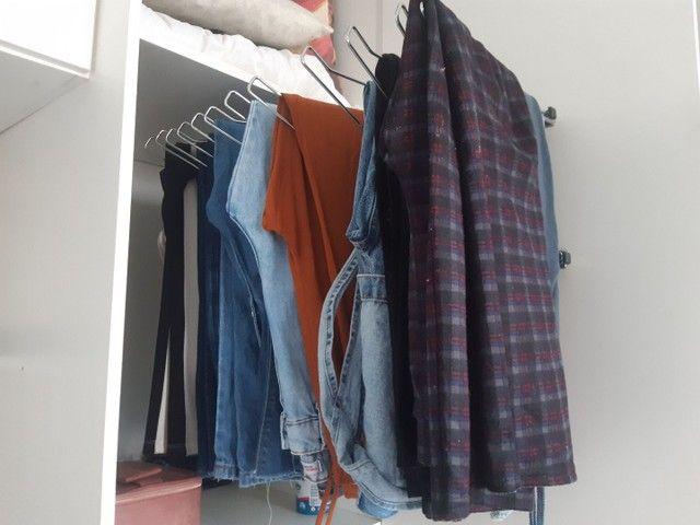 Calceiro inox ou cabide para calça comprida