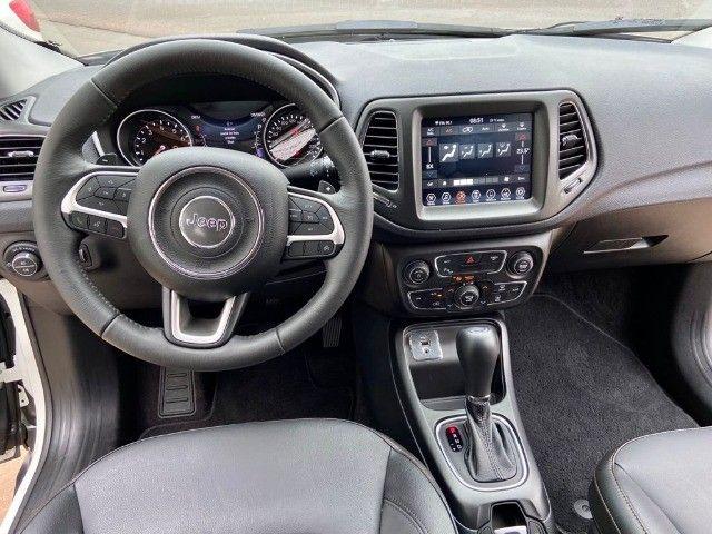 Jeep Compass Longitude 2.0 Flex ano 2021/21 * Apenas 5.800 Km  - Foto 6