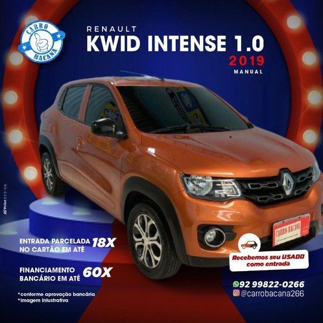 Kwid intense 1.0  2019