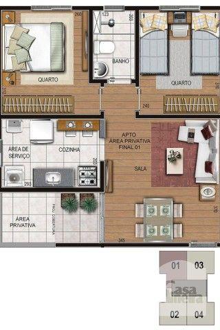 Apartamento à venda com 2 dormitórios em Alto caiçaras, Belo horizonte cod:317092 - Foto 5