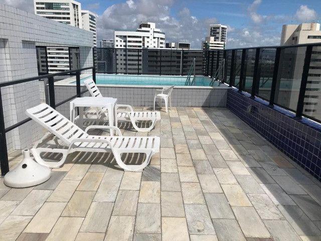 Flat tipo Studio Mobiliado no Bairro de Boa Viagem, Recife-PE - Foto 4