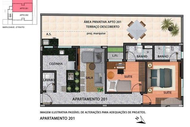 Apartamento à venda com 2 dormitórios em Anchieta, Belo horizonte cod:280097 - Foto 10