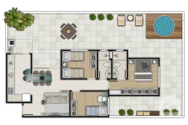 Apartamento à venda com 3 dormitórios em Salgado filho, Belo horizonte cod:250264 - Foto 2
