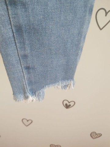 Calça Jeans Hering Kids Menina 4 anos - Foto 3
