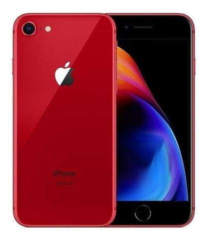 Apple Iphone 8 Vermelho Novo Completo (Melhor Preço)!!!