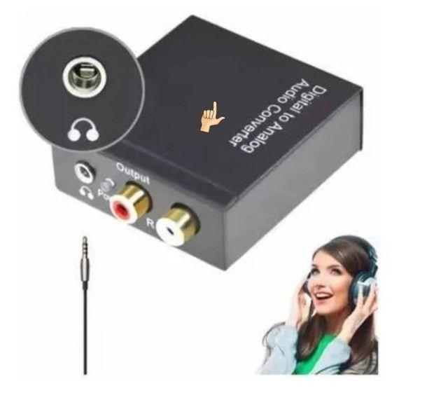 Conversor Áudio Digital Para Analógico Rca Knup Kp-3463 - Foto 4