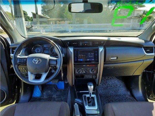 Toyota Hilux SW4 2.7 Automático 2019 Preto - Foto 9