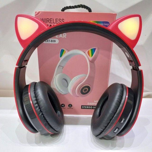 Fone orelha de gato (entrega grátis) - Foto 5
