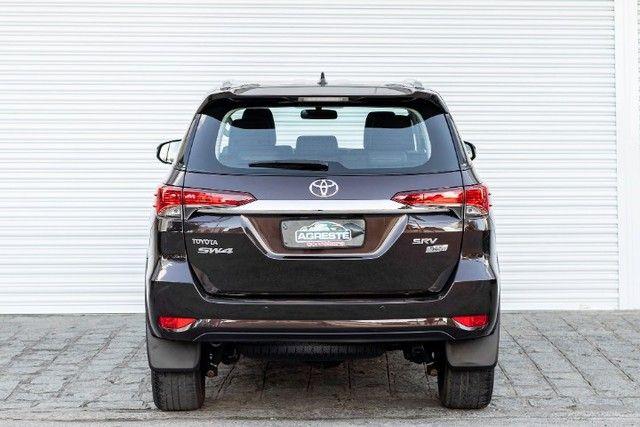 Toyota hilux sw4 4x2 srv flex 2018 automatica *IPVA 2021 PAGO* - Foto 5